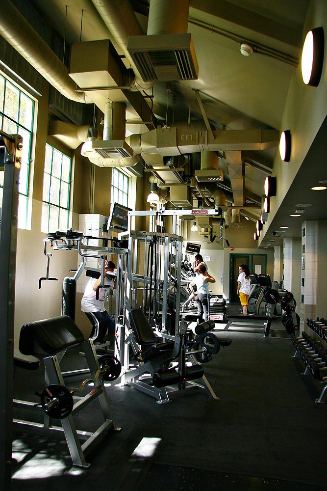 Bob Glass Gymnasium Ca Construction